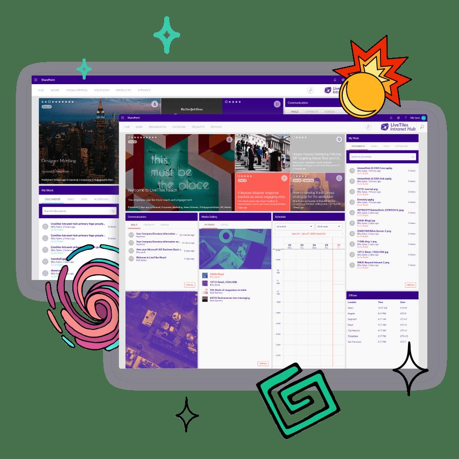 livetiles-hub-user-experience