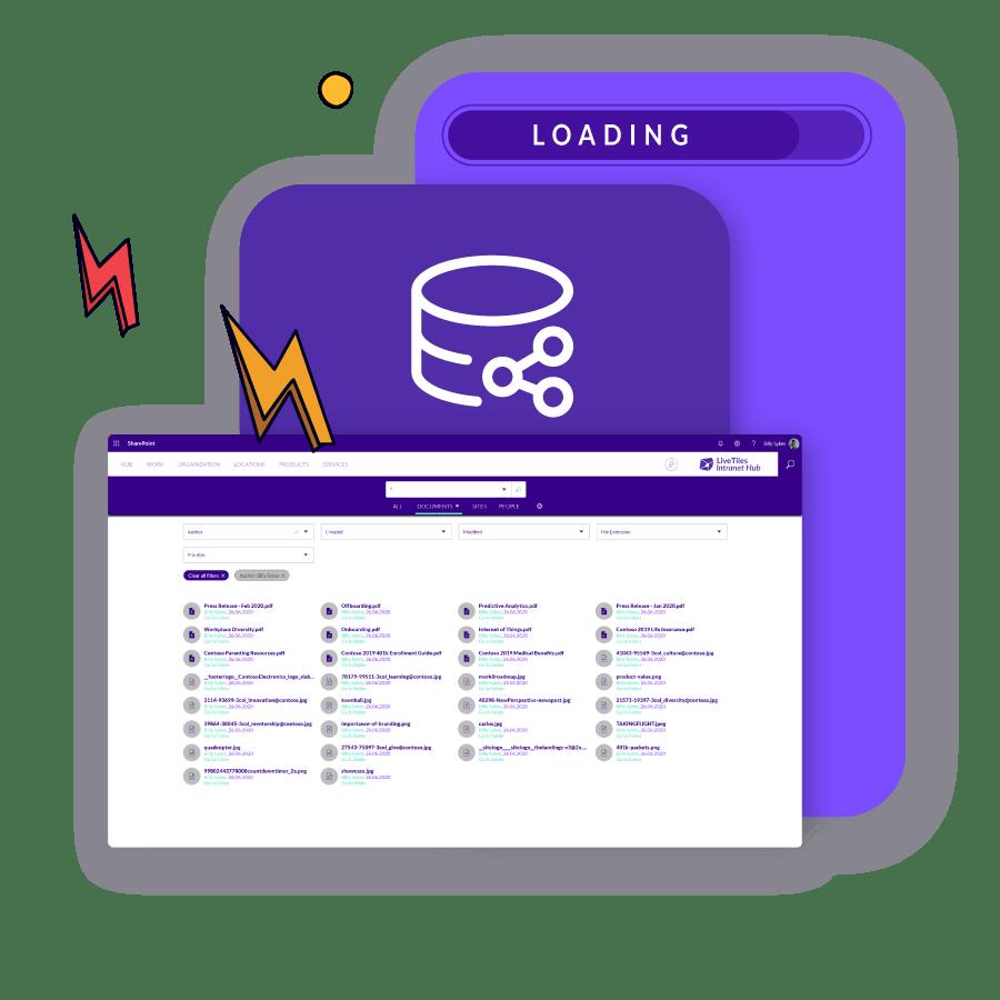 livetiles-hub-fast-integration