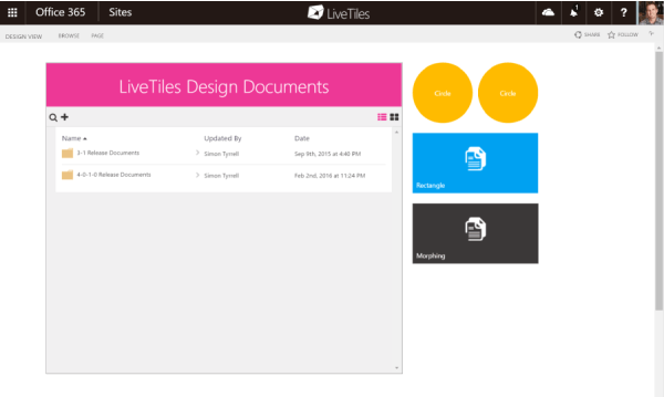 LiveTiles Document Libraries Improve the Digital Workplace