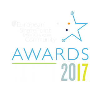 European SharePoint, Office 365 and Azure Community Awards