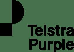 Telstra Purple Logo