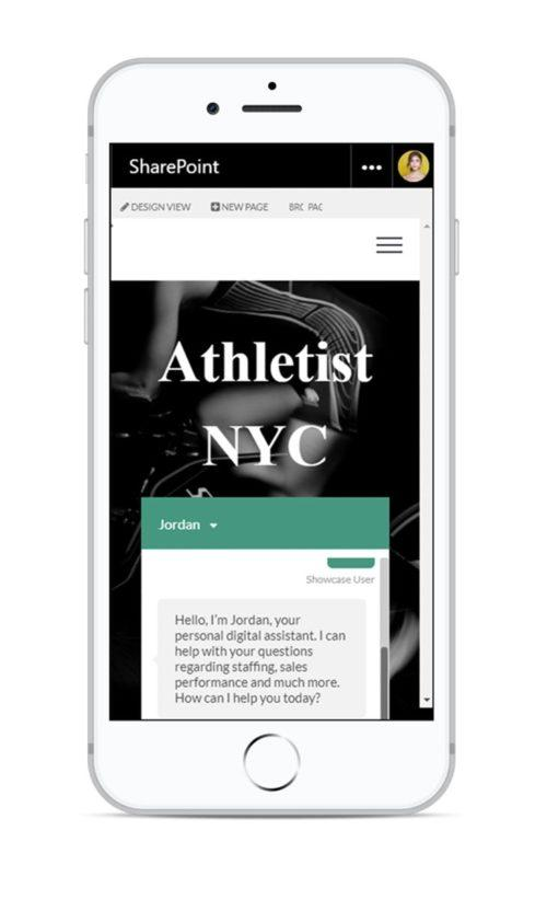 PepsiCo mobile digital workplace example of Athletist NYC