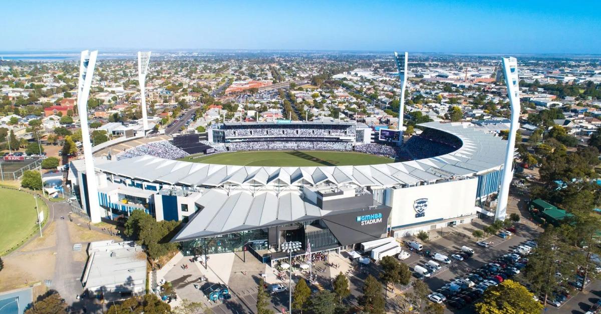 Geelong FC banner