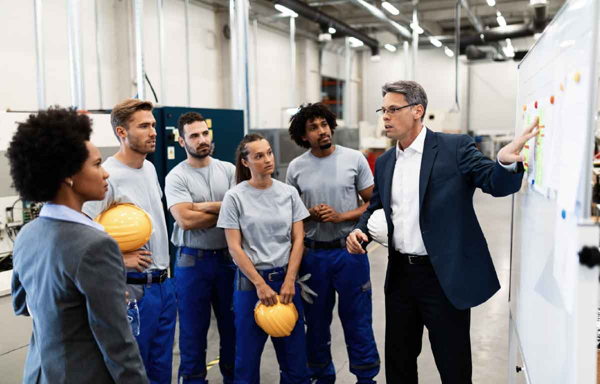Improving employee engagement post covid for first-line workers