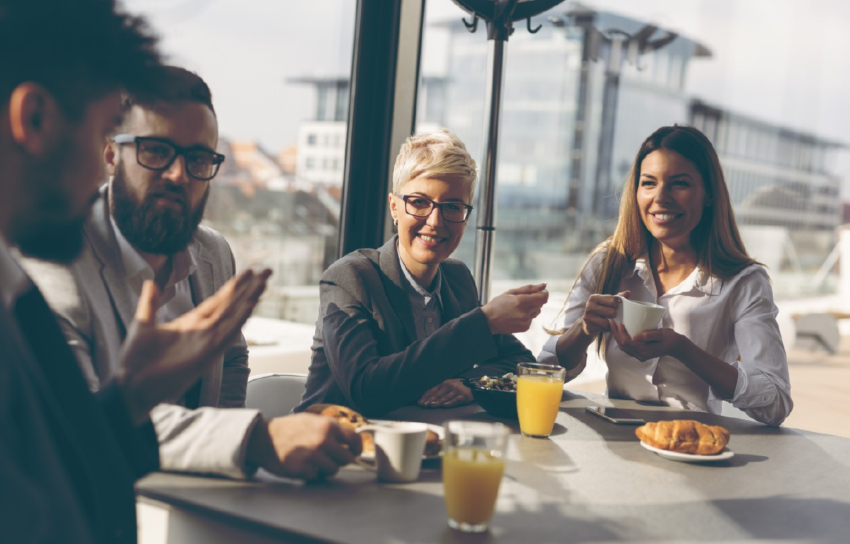 Return to the office breakfast to help with employee engagement