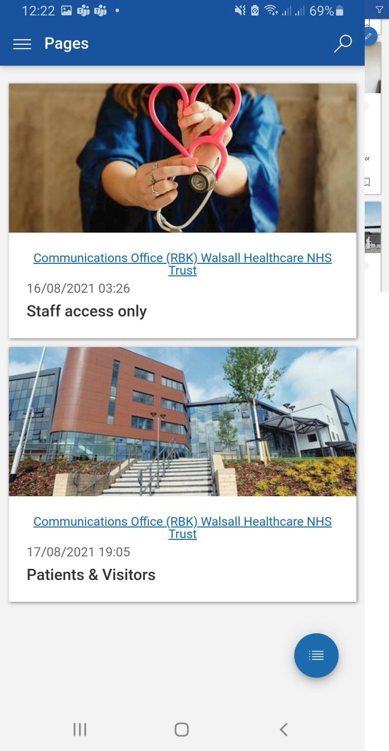 Walsall-intranet-reach-staff-news